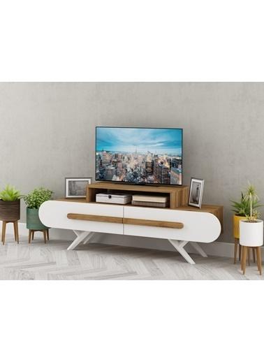 Sanal Mobilya Clipper Tv Sehpası Beyaz
